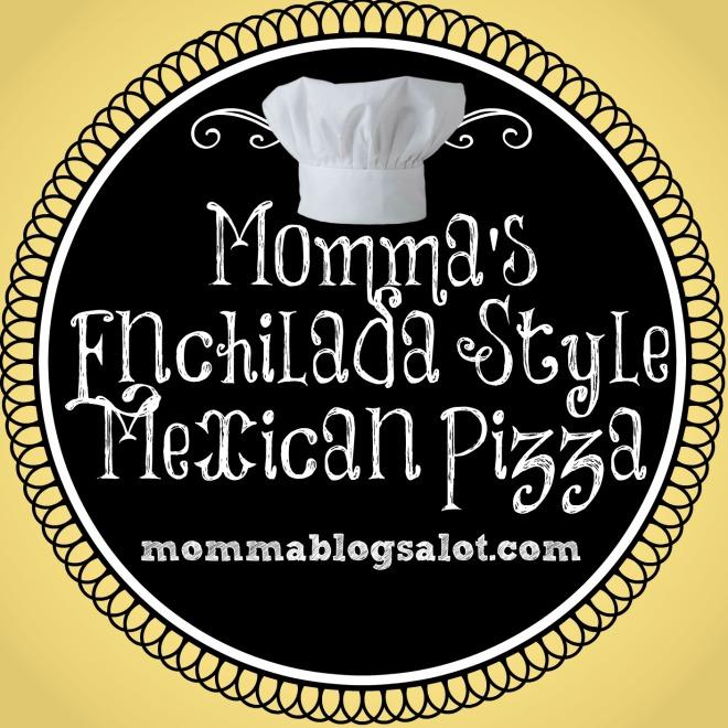 enchilada mexican pizza @ mommablogsalot