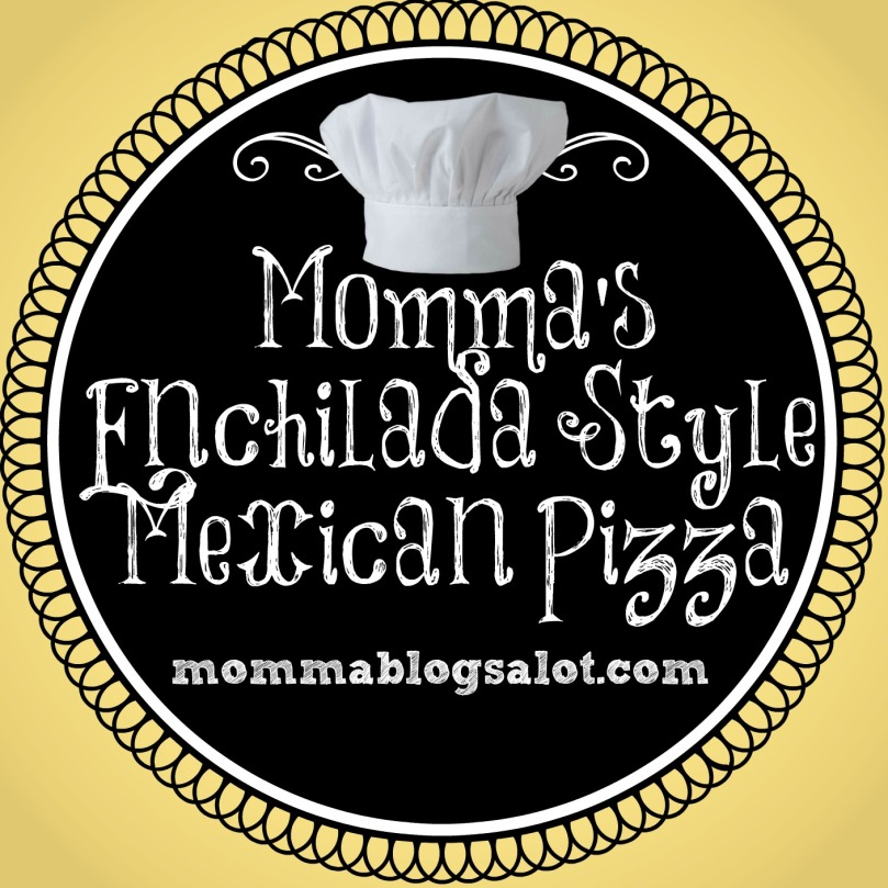 enchilada mexican pizza @ mommablogsalot