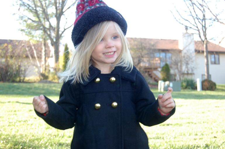 A young Amelia Pond