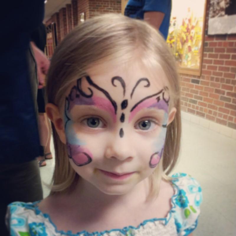 pretty as a butterfly