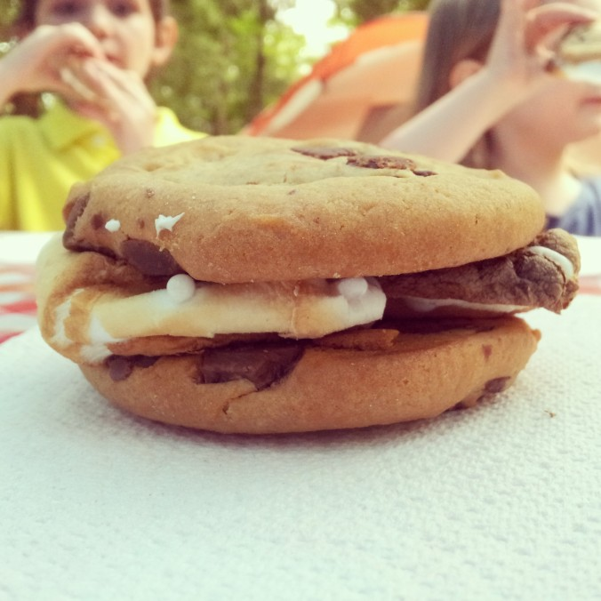 the cookie s'more