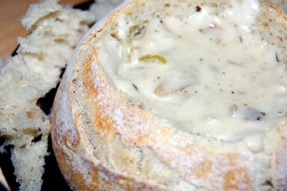 andrea's clam chowder