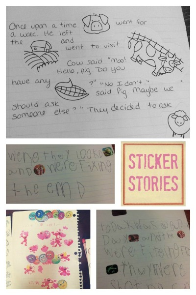 sticker stories