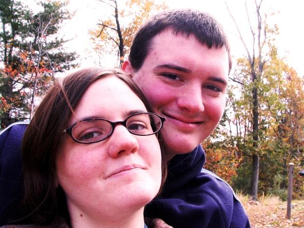 me and hubby circa 2005