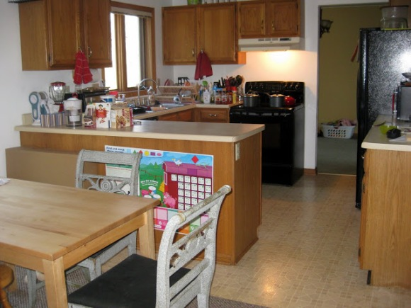 our kitchen in 2011