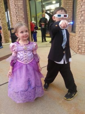 karate Halloween party