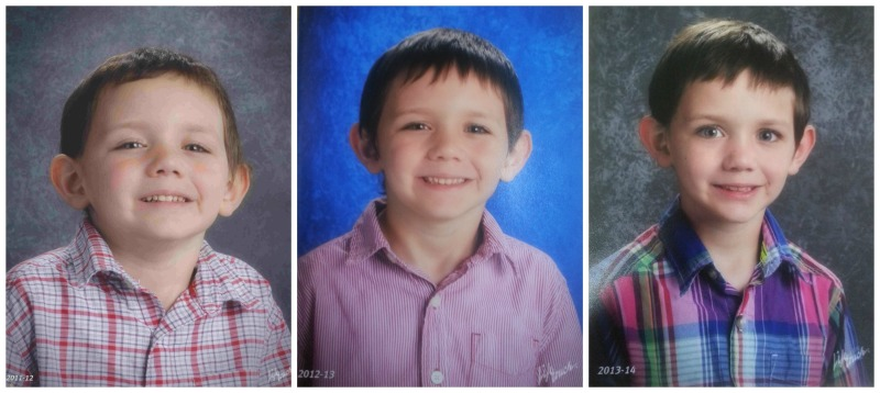 MM's school pictures