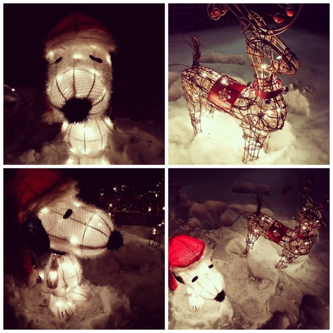 Snoopy Outdoor Decor Christmas