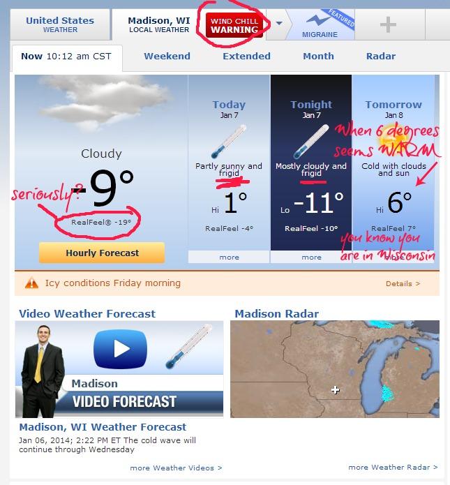 winter weather in wisconsin
