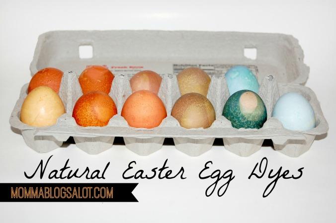 2014 natural easter egg dyes