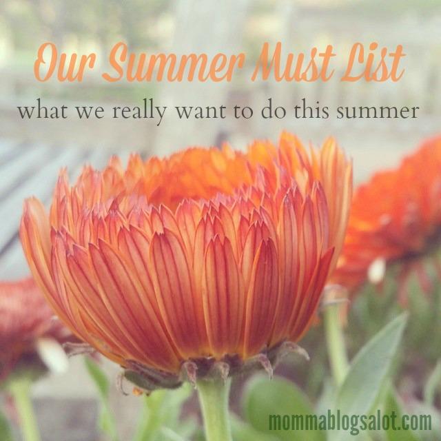 summer must list