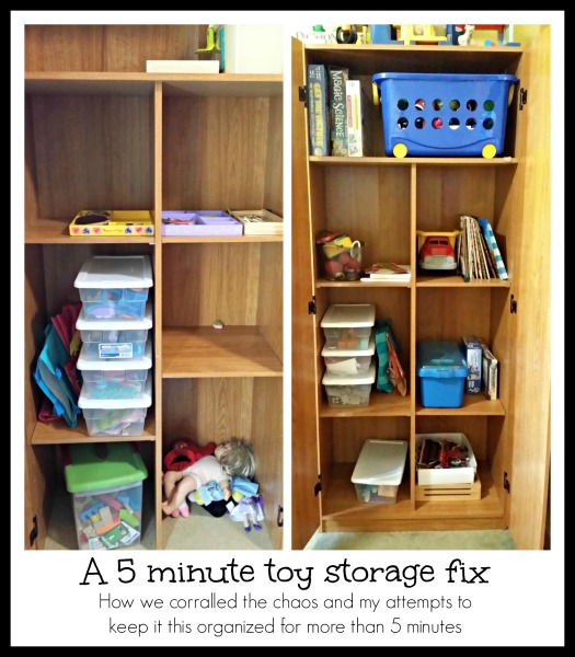 5 minute toy storage fix