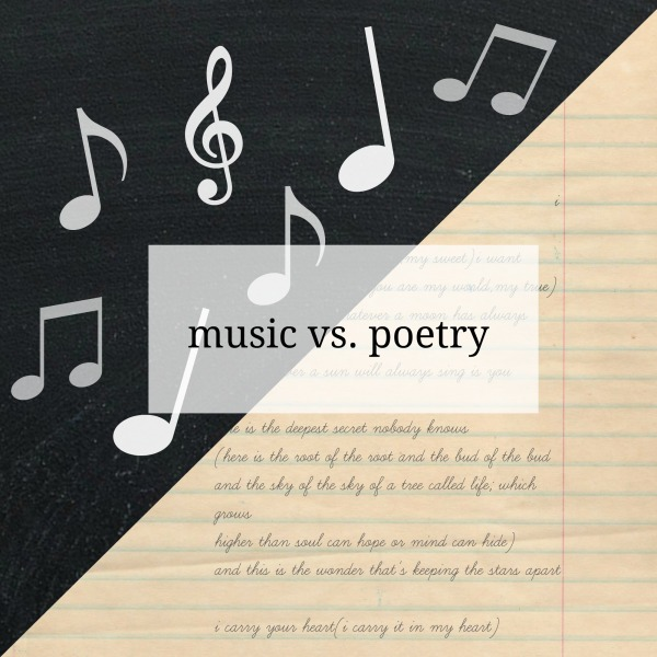 music vs poetry