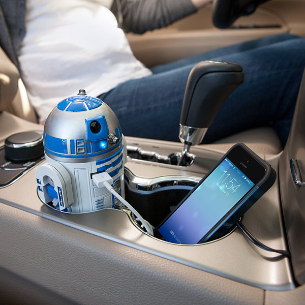 R2-D2 USB Car Charger - $39.99 | ThinkGeek.com