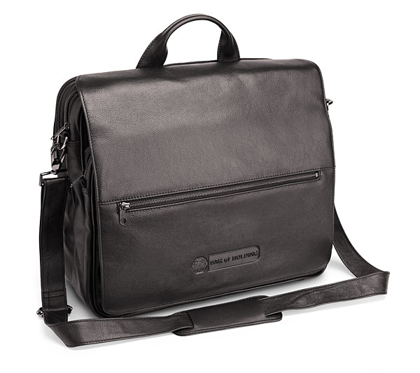 Leather Executive Bag of Holding - $149.99   ThinkGeek.com