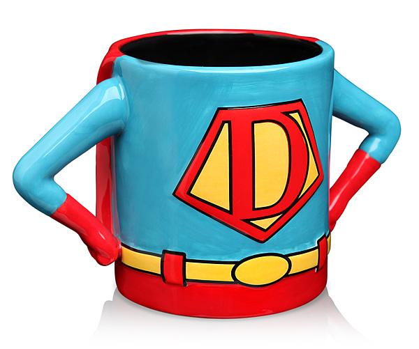 A Superhero Dad Mug - $19.99   ThinkGeek.com