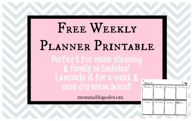 plannerprintablebanner