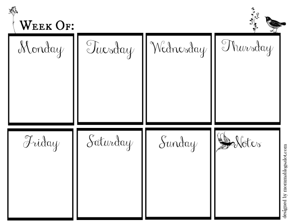 weeklycalendar